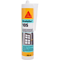 Нейтральный силиконовый герметик SikaHyflex®-105 300 мл