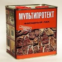 Фасадный лак  МУЛЬТИПРОТЕКТ-Л (канистра 2,4 литра) матовый