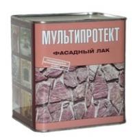 Фасадный лак  МУЛЬТИПРОТЕКТ-Л (Ведро 10 литров) глянцевый
