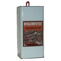 Фасадный лак  МУЛЬТИПРОТЕКТ-Л (Ведро 20 литров) глянцевый