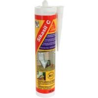 Нейтральный санитарный силиконовый герметик Sikasil®-C 300 мл