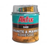 Клей для гранита и мрамора Akfix G400 1кг