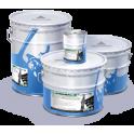Защитно-декоративная алюминийнаполненная краска по металлу АЛЮМАС-М