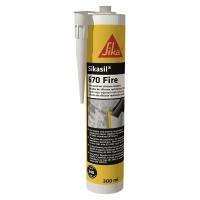Огнезащитный силиконовый герметик Sikasil®-670 Fire белый 300 мл