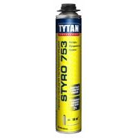 Клей для наружной теплоизоляции Tytan Professional Styro 753 GUN 750 мл