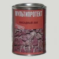 Фасадный лак  МУЛЬТИПРОТЕКТ-Л (Банка 1 литр