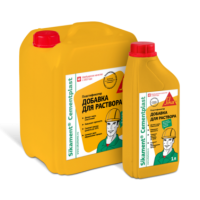 Пластифицирующая добавка для пескобетона Sikament® CementPlast 5 л
