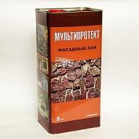Фасадный лак  МУЛЬТИПРОТЕКТ-Л (канистра 5 литров) глянцевый
