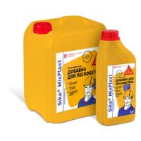 Пластифицирующая добавка для готового пескобетона Sika® MixPlast 5 л