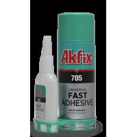 Универсальный экспресс клей с активатором Akfix 705