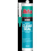 Прозрачный акриловый герметик Akfix AC603
