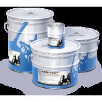 Защитно-декоративная алюминийнаполненная грунт-краска АХСК-1467