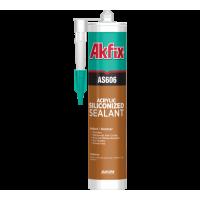Акриловый герметик силиконизированный Akfix AS606