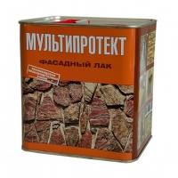 Фасадный лак  МУЛЬТИПРОТЕКТ-Л (канистра 2,4 литра) глянцевый