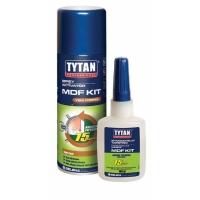 Двухкомпонентный цианакрилатный клей для МДФ Tytan MDF Kit 50г+200мл