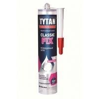 Монтажный клей прозрачный Tytan Professional Classic Fix 310 мл